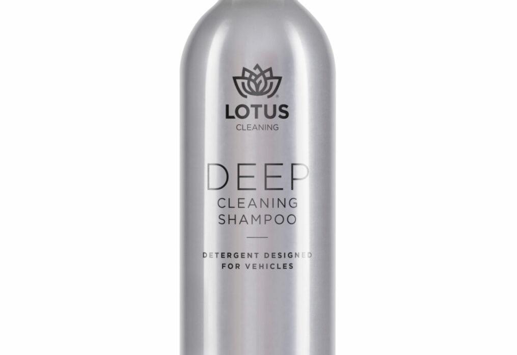 Lotus Deep Cleaning Shampoo.